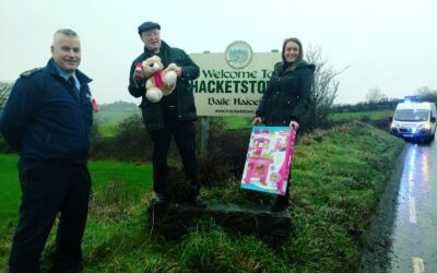 Hacketstown donates a huge haul of toys to children in need
