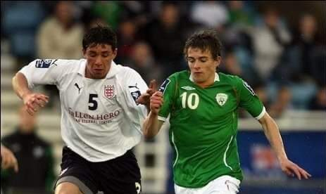 Shane Howard – Irish Soccer Squad U15s to U18s