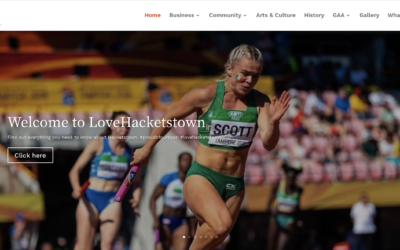 New website puts Hacketstown on the global map