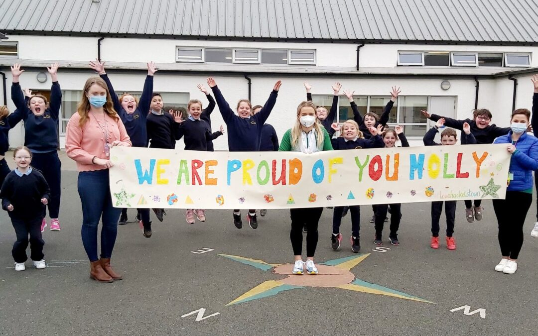 A Hero' Welcome Home for Hacketstown's Molly Scott